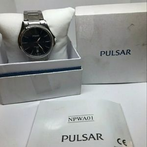 Pulsar Accessories - Pulsar (by seiko) blue dial sapphire crystal watch